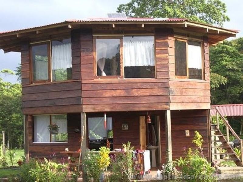Reducción de precio Guaplies; 85 m2 Casa de Madera con 5,400 m2 ...