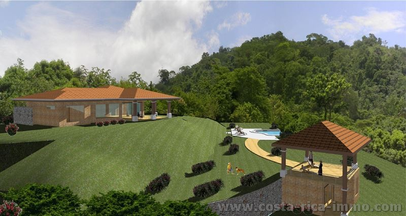 San Ramon, Incredible views and climate on this 7,000 sq mtr property with pool for