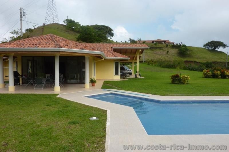 House For Sale With A Large Swimming Pool And Beautiful View At