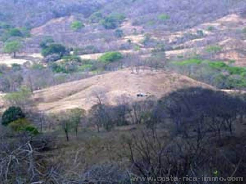 Copal 4.1 ha and dif. Lots  more with Top view over the Gulf of Nicoya