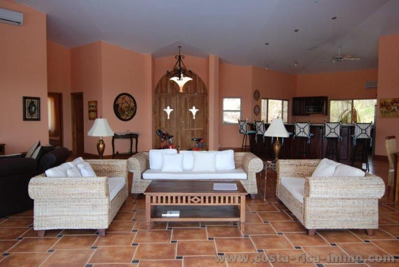 An awesome villa for your best vacation & living - Luxury Villa for sale With breathtaking views to the Golfo de Nicoya
