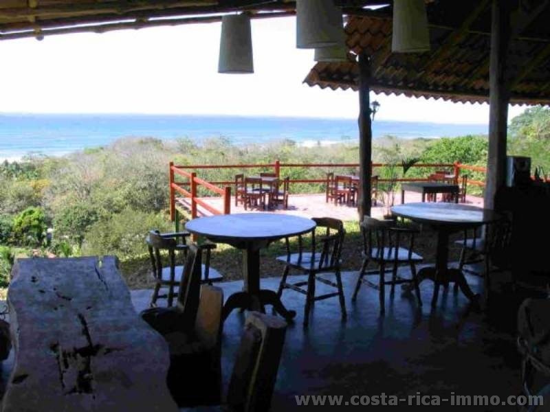 Hotel-Restaurant business opportunity with the best ocean views on the Santa Teresa / Malpais