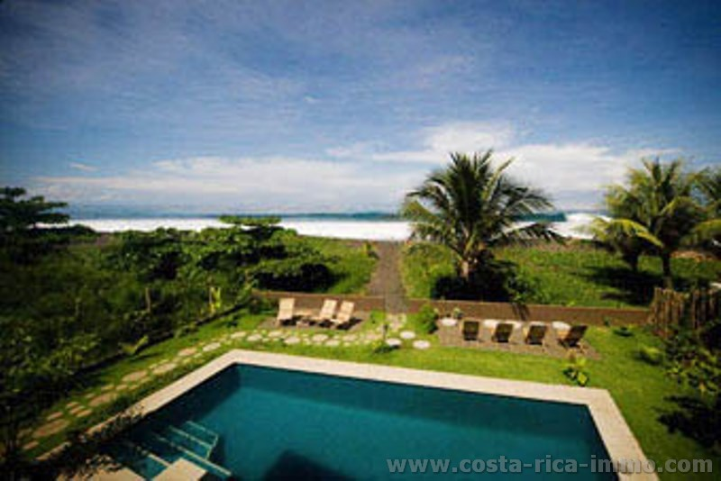 For sale beautiful Beachfront Surf Lodge Playa Hermosa