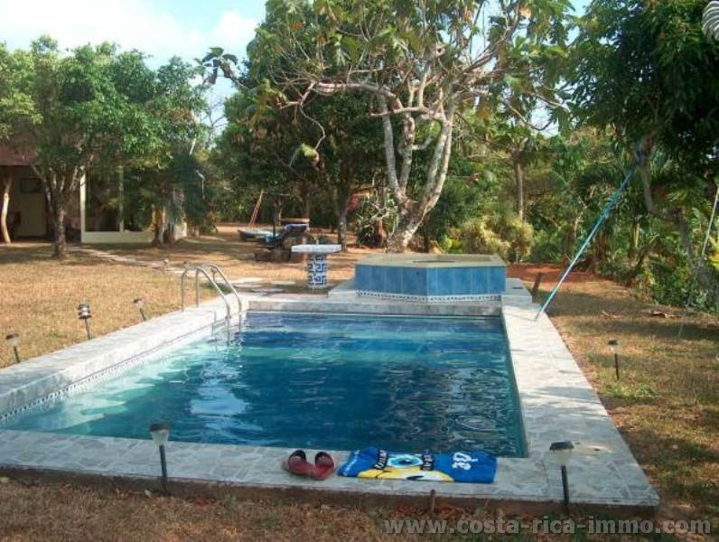 For sell beautiful, idyllic villa with sea views, tropical garden with swimming pool and Jacuzzi at San Ramon