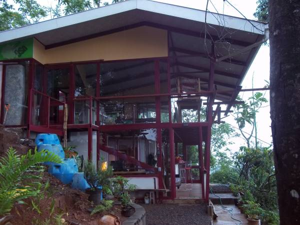 For sale, Birdhouse in the Sky, panoramic ocean view, near Puriscal (Calle a Parrita)