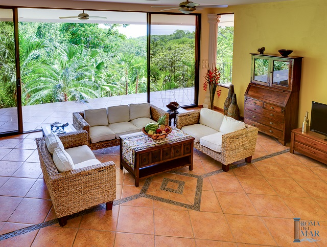 Villa for sale with a stunning view of the Gulf of Nicoya for sale