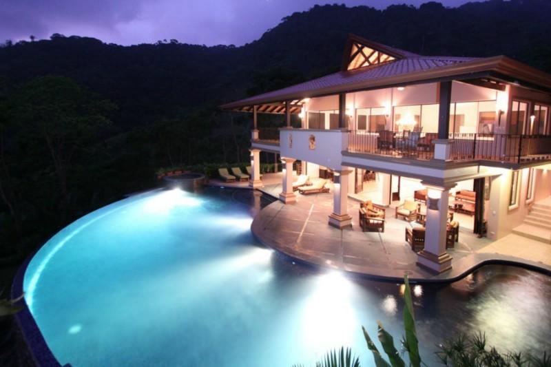 Dominical 3 villas grand luxury ocean view estate south for Luxury villa costa rica