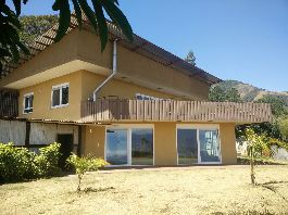 For rent, beautiful residential house with indoor pool in San Antonio de Escazu