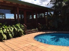 For Rent, House with pool at San Rafael de Escazú-Bello Horizonte
