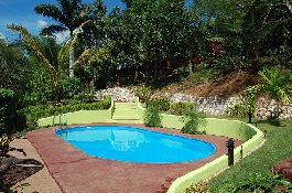 For rent on long term, house with swimming pool, jacuzzi, tropical garden, near Ostional
