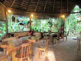For sale real jungle lodge in Punta Uva, south of Puerto Viejo, on the Caribbean coast of Costa Rica