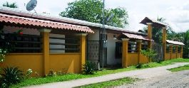 Twin houses in the center of Cahuita