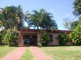 This beautiful property with main house and separate guest house is for sale.