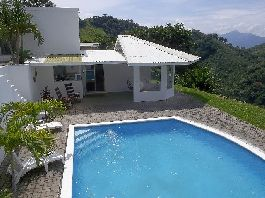 For sale  House with fabulous views of pool and tropical garden at Atenas