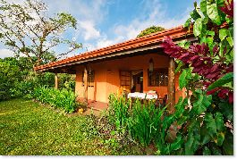 Paradise of 3.7 ha of land for sale, with house, stream, forest and panoramic views over the sea
