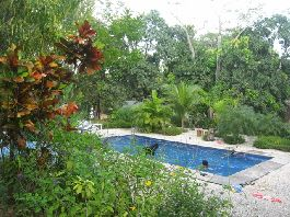 Costa Rica -  Existence/Hotel in Montezuma with main house, 4 rooms and 2 separate Bungalows