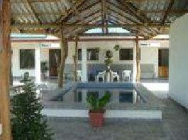 Three houses complex with sea views, and 7,000 m2 garden between the beaches of Islita and Coyote