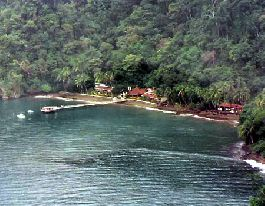 Golfo Dulce; Fantastic and exclusive nature lodge with 29.8 ha of land and 389 m sea front
