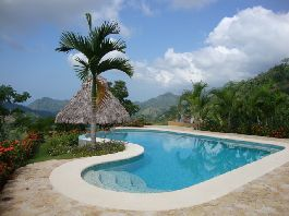 House with beautiful views of the sea at Puerto Cortes - for sale Osa