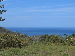 Playa Garza - nice Plot fully developed with a beautiful view of the sea