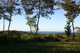 Building plot with great views and yet close to the sea at Ostional