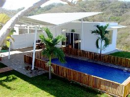 Tamarindo Villa, contemporary Ocean view Home at Guanacaste