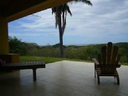 For sale, beautiful house near the sea with separate guest house and a beautiful sunset sea view