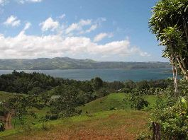 Top - building lot with beautiful views of the Arenal - Lake