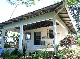 Costa Rica real estate, small paradise with 2 houses, surrounded by beautiful nature for sale