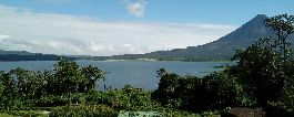 Land with a beautiful view of the volcano and the Arenal Lake at el Castillo for sale