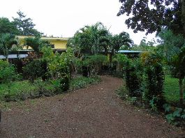 Organic Farm & Kaffee operation, with Main House, Guest Cabin and Yoga Platform, at Tierras Morenas-Tilarán