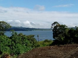 Land 572 m2, with garden shed and beautiful view of the volcano and the lake at el Castillo-Arenal