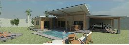 For sale, beautiful prefabricated house with swimming pool in Orotina