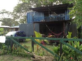 Turn key home 80,000 dollars obo container home/Furnished/land, near Playa Hermosa/Puntarenas