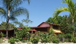 For sale, little paradise with house, guest house, pool and tropical garden in Montezuma