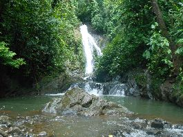 For sale, 226 ha paradise farm with 15 waterfalls in Golfito