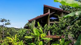 Tropical design, Spectacular Views and privacy highlight fantastic property at San Josecito-Dominical