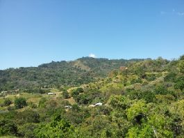 For sale, nice building plot (2816 m2) with an unobstructed view of the mountains in Atenas