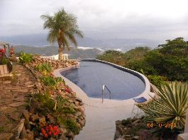 For sale, beautiful house with 360 ° dream view of the sea and the mountains at Desmonte