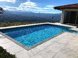 Atenas, new house 320 m2 with fantastic views, swimming pool, jacuzzi and 7,050 m2 garden for sale near Atenas