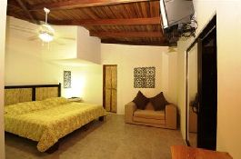 For sale, nice small hotel close to the dream beach of Playa Grande