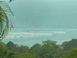 Top plot with unobstructed views of the Pacific Ocean at Playa Coyote for sale