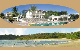 For sale, first class hotel or private villa with fantastic Meerrsicht near the beach in Nosara