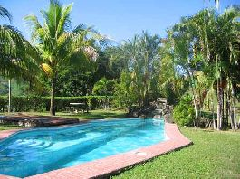 For sale, 88 ha farm with a mansion, 30 ha Biological Reserve, stream, waterfalls at Playa Naranjo