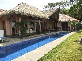 For sale, Exclusive designer house with guest house on the beach and 25,000 m² of land!