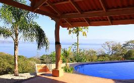 Luxury Villa with Pool and viwe of the Gulf of Nicoya, Playa Naranjo