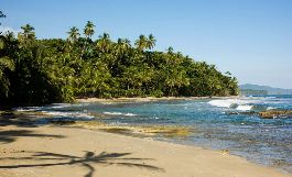 For sale, best beach plot of 1,299 m2 m2 at Playa Cocles