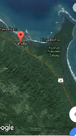 For sale, beautiful 4,863 m2 building plot in the nature at Cahuita